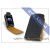 Slim SLIGO flipes bőrtok - Apple iPhone 3G/3GS - fekete