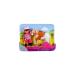 Simba Évi baba zsokéruhában - fehér lóval