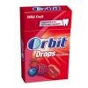 Wrigleys Orbit Drops cukormentes cukorka 35 g Wild Fruit