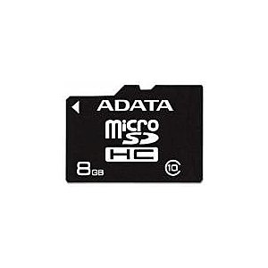 A-Data A-Data 8GB MicroSDHC Class 10 adapter nélkül