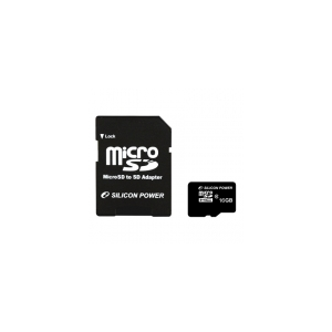 Silicon Power Silicon Power 4GB Micro Secure Digital Card + SD adapter CL6