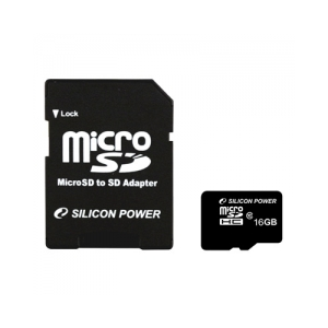 Silicon Power Silicon Power 32GB  Secure Digital Card CL4+ SD adapter CL4
