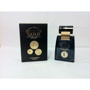 New Brand Gold Men EDT 100ml