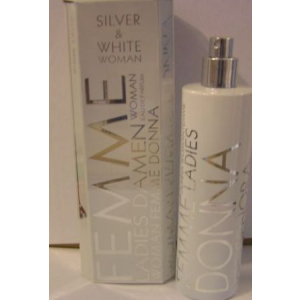 Omerta Femme Silver and White EDP 100ml