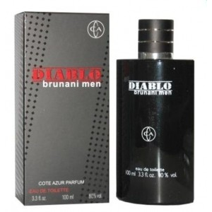 Cote D Azur Brunani Men Diablo EDT 100ml