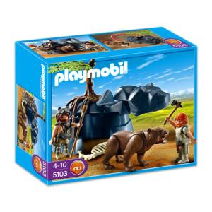Playmobil Barlangi medve vadászokkal - 5103