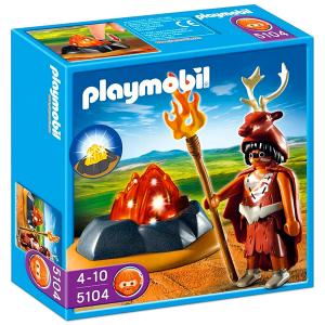 Playmobil A tűz őre és tűzszikla 5104
