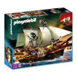 Playmobil Kalóz zsákmányszerző hajó - 5135