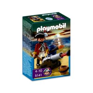Playmobil Vörös kabátos tüzér - 5141