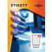 Etikett címke pd 52.5x29.7 szegély nélkül 4000 db/doboz