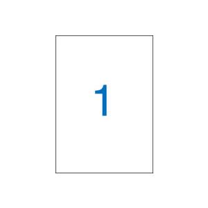 VICTORIA 1 pályás etikett, 297x210 mm, 100 etikett/csomag