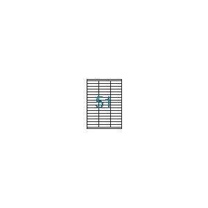 VICTORIA 3 pályás etikett, 70x16,9 mm, 5100 etikett/csomag