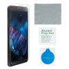 """4smarts 360° Prémium """"Easy-Assist"""" Védő Szett Samsung G965 Galaxy S9+ szilikon hátlap tok + üveg védőfólia, átlátszó"""