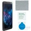 4smarts 360° Védő Szett Apple iPhone 5/5S/SE szilikon hátlap tok + üveg védőfólia, átlátszó