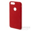 4smarts Cupertino Samsung G950 Galaxy S8 szilikon hátlap tok, piros