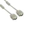 4world Monitor kábel SVGA D-Sub15 M/M 5m  ferrite