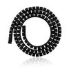 4world SMART SNAKE kábelrendező- átmérő 34mm  hosszúság 1.5m  fekete