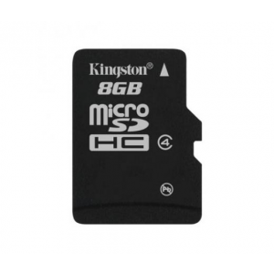 Kingston Micro SD 8GB (SDHC Class 4) (SDC4/8GBSP)