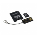 Kingston Micro SD 8GB + adapter + USB olvasó G2