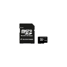 SILICON Power Micro SD 16GB + SD adapter CL10 memóriakártya