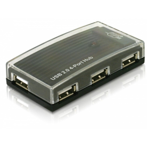 DELOCK HUB USB 2.0 4 port