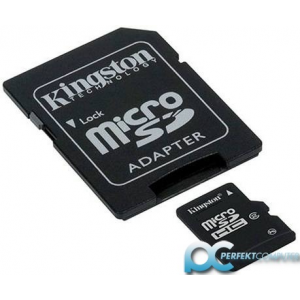 Kingston SD Micro  4GB HC 1Adapter Kingston CL4