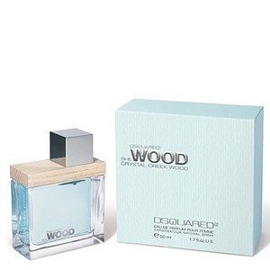 Dsquared She Wood Crystal Creek Wood EDP 30 ml