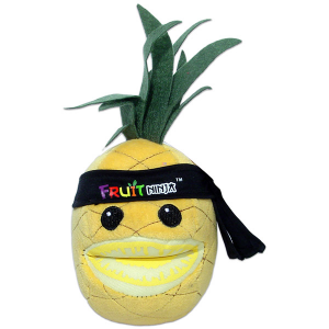 Commonwealth Toy Fruit Ninja - Ananász 13 cm-es plüssfigura hanggal