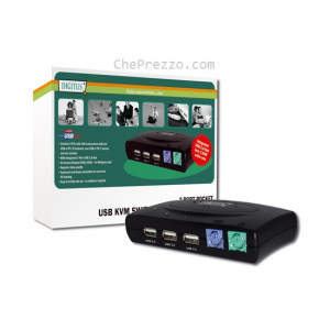 ATEN KVM switch 2PC PS/2+USB +audió +kábel