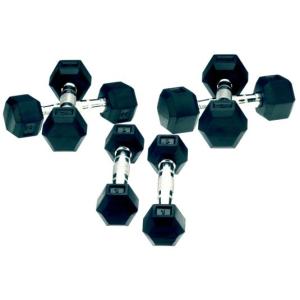 Bremshey gumírozott egykezes súlyzókészlet 1-10 kg
