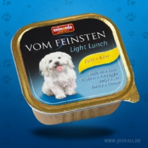Animonda Vom Feinsten Light Lunch pulykahússal és sajttal