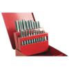 Extol Menetfúró klt., kézi, fém dobozban; 21db, M3,4,5,6,8,10,12, jó minőségű szénacél