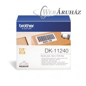 "Brother ""Brother DK-11240 tekercs (102 x 51mm) - 600db/tekercs"""