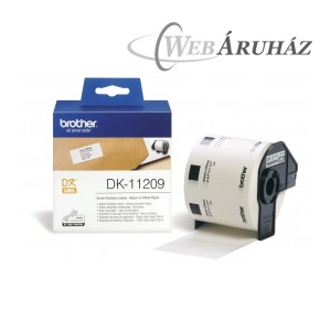 "Brother ""Brother DK-11209 tekercs (29 x 62mm) - 800db/tekercs"""