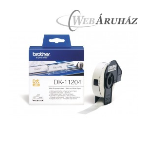 "Brother ""Brother DK-11204 tekercs (17 x 54mm) - 400db/tekercs"""