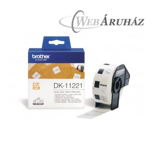 "Brother ""Brother DK-11221 tekercs (23 x 23mm) - 1000db/tekercs"""