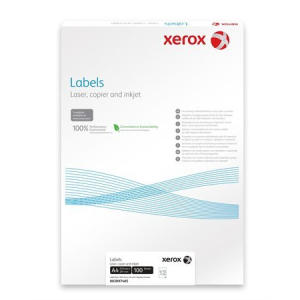 Xerox 38,1x21,2mm etikett címke