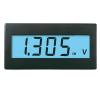 Voltcraft DVM330W digitális feszültségmérő modul, panelműszer fehér háttérvilágítással mérőműszer