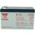 Yuasa Yuasa zselés ólomakkumulátor, 12V 7Ah, 151x97,5x65mm, NP7-12 L