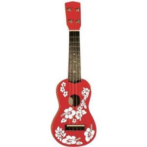 MSA MSA ukulele UK 31, piros/fehér