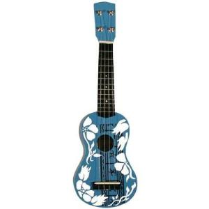 MSA MSA ukulele UK 34, kék/fehér