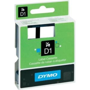 Conrad Dymo feliratozó szalagok, D1, 45809, fekete/zöld, 19x7, S0720890