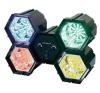 Conrad 4 csatornás LED-es fényorgona világítás
