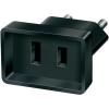 BRENNENSTUHL USA dugó átalakító adapter, fekete, 1508500