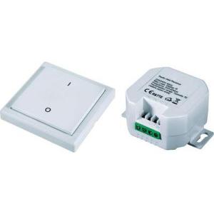 Conrad Rádiójel vezérlésű beépíthető kapcsolókészlet, hatótáv max. 70 m (szabad területen), RSL4