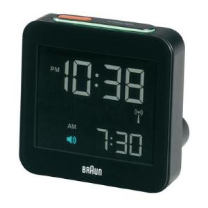 Conrad Braun Multiband XL fekete színű nagy kijelzős rádiójel vezérlésű asztali ébresztőóra