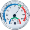 Conrad analóg hőmérséklet és páratartalom mérő