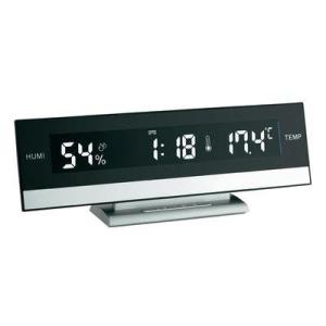 TFA TFA asztali óra, hőmérséklet és páratartalom mérővel
