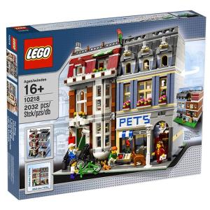 LEGO Kisállat kereskedés 10218