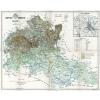 Stiefel Eurocart Kft. Heves megye térképe fakeretben